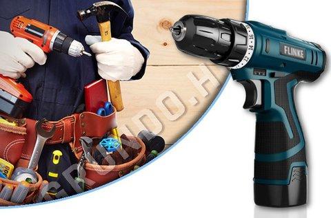 Flinke akkumulátoros fúró és csavarozó