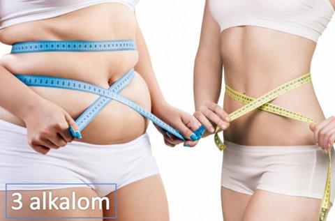 3 alkalom zsírbontás 3 féle eljárással, 3 területen
