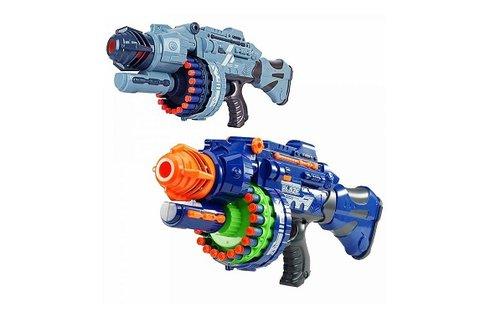 Játékfegyver hanghatással, 2 különböző színben