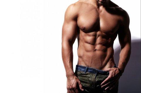 Teljes férfi test 3 alkalmas tartós szőrtelenítése