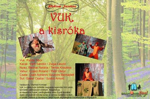 Belépő a Vuk, a kis róka című zenés előadásra