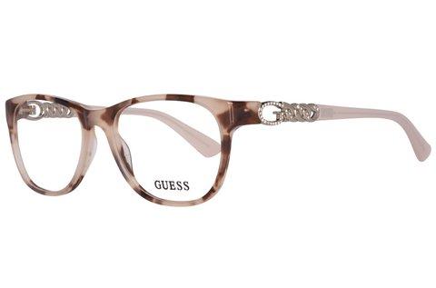 Guess bézs színű női szemüvegkeret