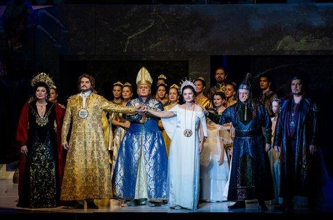 István, a király című előadás az Erkel Színházban