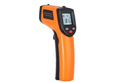 Érintés nélküli infravörös hőmérő digitális kijelzővel