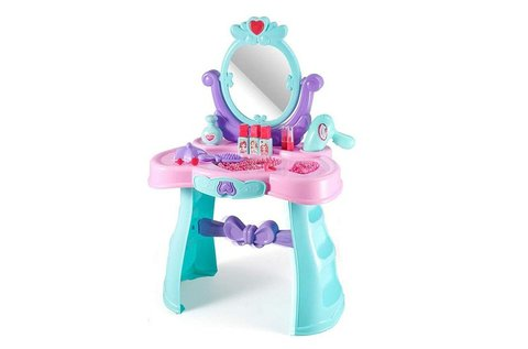 Játék fésülködő asztal állítható tükörrel