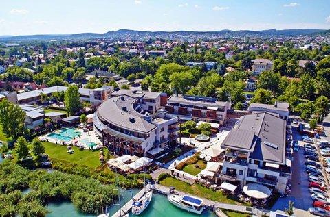 Balatonfüredi kikapcsolódás luxus környezetben