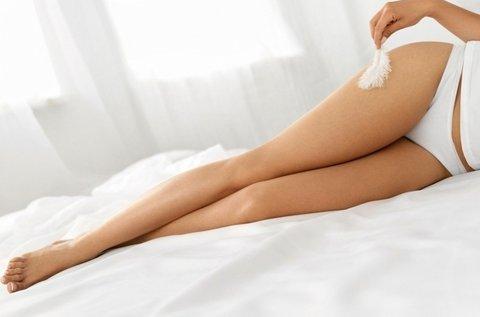 Tartós szőrtelenítés lábakon és intim területen