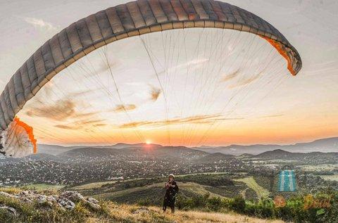 10 perc tandem siklóernyős repülés FullHD videóval