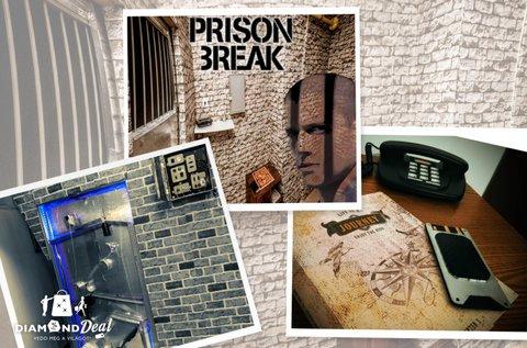 Kalandos Prison Break szabadulószoba 2 főnek
