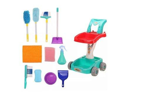 Játék takarító felszerelés fiúknak és lányoknak