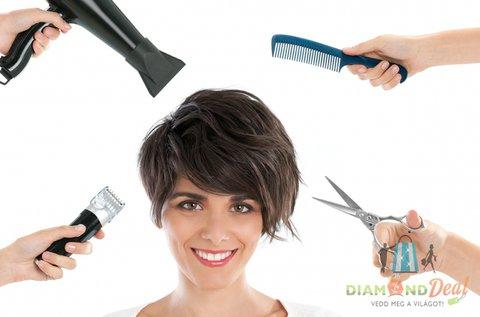 Új frizura vállig érő hajból nőknek és férfiaknak