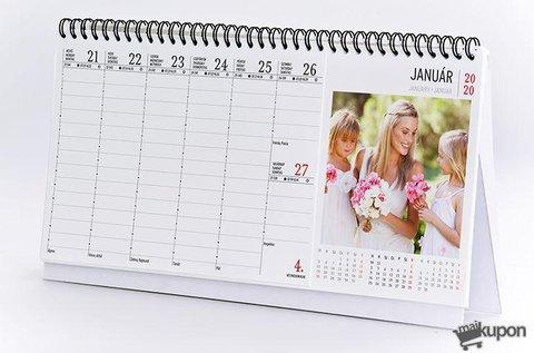 2021-es egyedi 54 lapos asztali naptár
