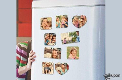 Lepd meg a szeretteid fényképes hűtőmágnessel!