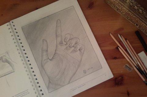 Jobb agyféltekés rajzolás 3 vagy 4 napban