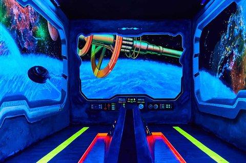 Páros belépő a Neonis 3D minigolf pályáira