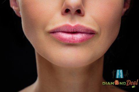 Formás ajkak választható sminktetoválással