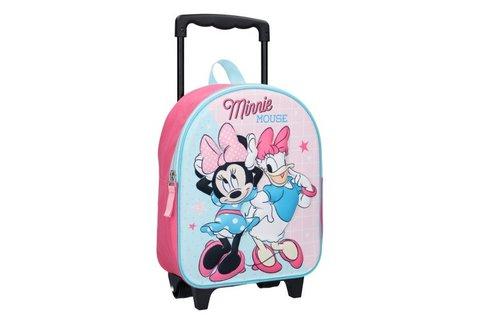 Minnie Mouse Simply Sweet lányos, gurulós bőrönd