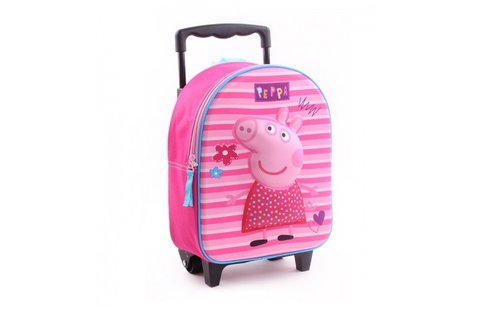 Peppa Pretty Little Things lányos, gurulós bőrönd