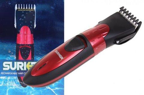 Surker akkumulátoros, vízálló hajvágó készlet