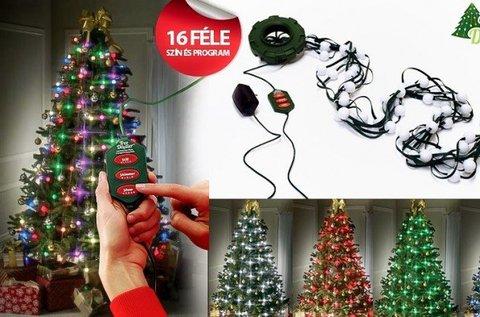Tree Dazzler LED karácsonyfa fényfüzér