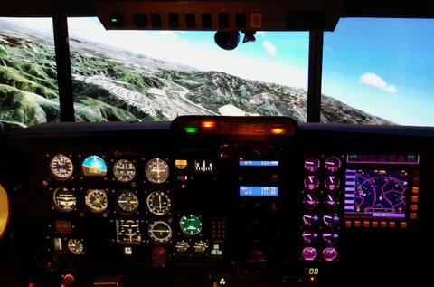 2 órás repülőgép szimulátorozás 1 fő részére