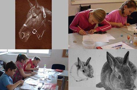 2 napos jobb agyféltekés rajzolás gyerekeknek