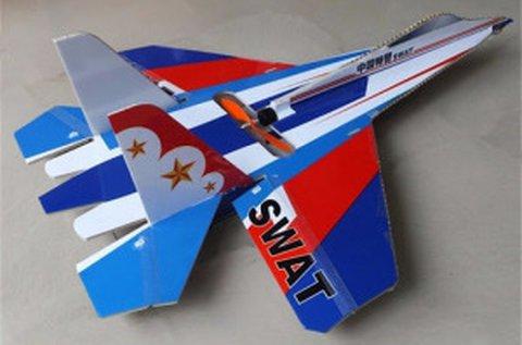 SU-27 RC elektromos vadászrepülő modell
