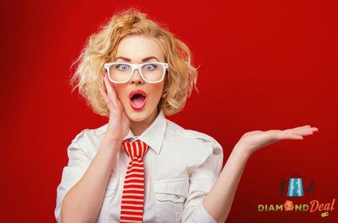 Komplett szemüveg divatos kerettel