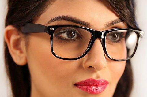 Dioptriás monitorszűrő szemüveg kerettel