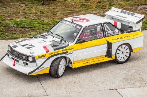Száguldj a legendás Audi S1-gyel 3 körön át!