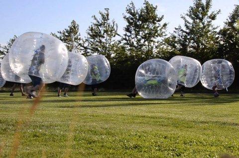 1 óra buborékfoci játék 10-12 buborékkal