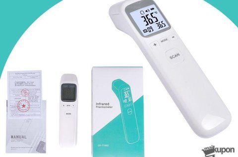 Infravörös homlok- és felületi hőmérő
