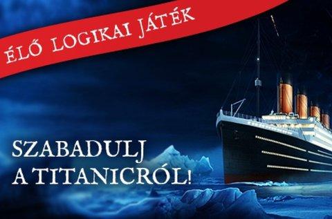 Titanic szabadulós játék 2 főnek 60 percben