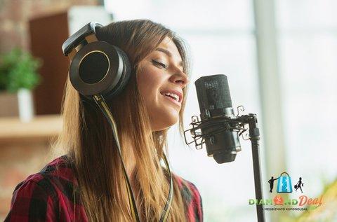 Énekeld fel a kedvenc dalod egy profi hangstúdióban!