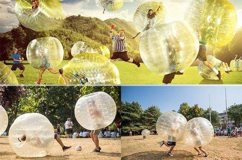 1 órás buborékfoci játék 10  fő részére