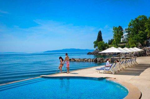5 napos tengerparti feltöltődés Opatijában