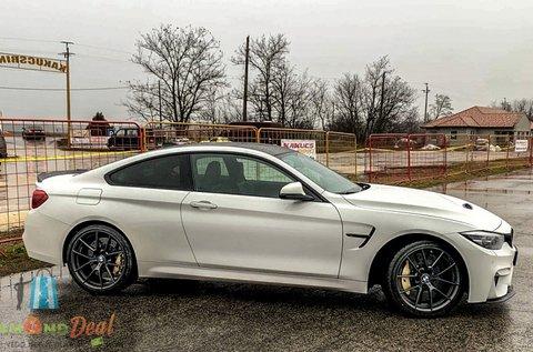 3 kör vezetés a limitált kiadású BMW M4 CS-vel