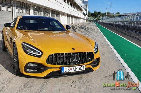 Nyomd a gázt egy Mercedes AMG GT C Coupéval!