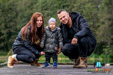 Örök emlékek készítése családi fotózással
