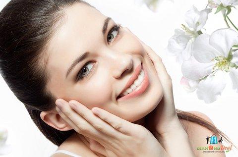 Kozmetikai nagytisztító arckezelés arcmasszázzsal