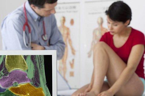 Ortopédiai kivizsgálás specialistával