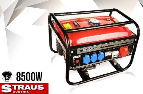 8500 W-os Straus inverteres áramfejlesztő