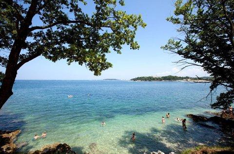 Családi tengerparti vakáció Porec félszigetén