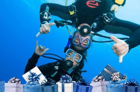 Védett vízi próbamerülés az Aquaworldben