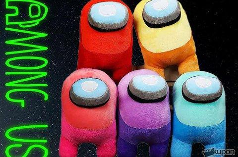 Among Us játék plüssfigurái különböző színekben