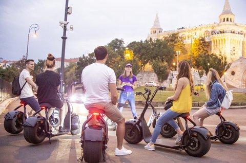 1 órás Luna Electric Scooter e-robogó bérlés