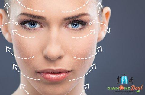 8 lépcsős arckezelés mezo- és LED fényterápiával