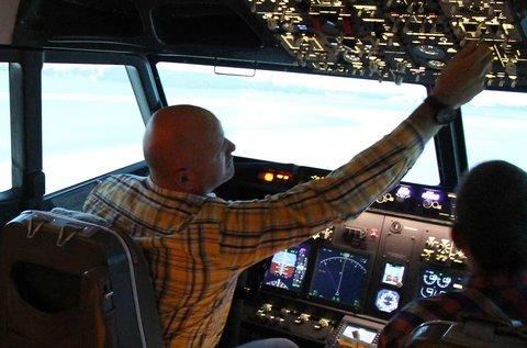 1 órás Boeing 737 repülőgép szimulátorozás