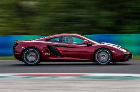 McLaren vezetés quad vagy gokart használattal