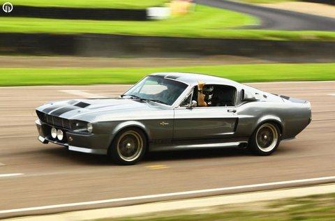 Ford Mustang Shelby vezetés 4 körön át